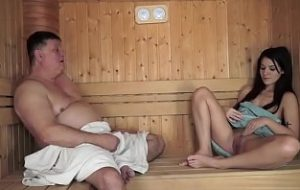 Man touched me in a sauna video