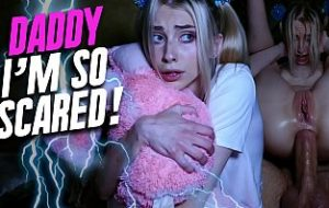 Little daughter porn she say's Daddy i'm so scared!