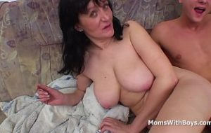 village grand mother boy sex video